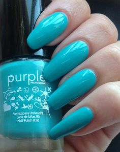 Betty Nails: Purple Professional - Summer Collection- Swatches and Review - Part 2/3 - Neon/Bright Colors ( 64-69)