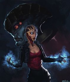 Mass Effect - Javik & female Drell