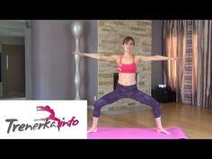 Pilates - zestaw ćwiczeń na płaski brzuch i zgrabne nogi - YouTube