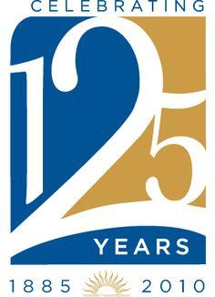 125th Anniversary Logo by Danielle Bologna, via Behance
