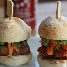 Try this Mini Pork Banh Mi  recipe.