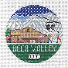 "Deer Valley Round 4"" 18 mesh"