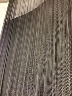 Wire mesh wall curtain