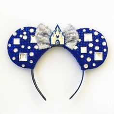 Disneyland Inspired 60th Anniversary Ears by ToNeverNeverland