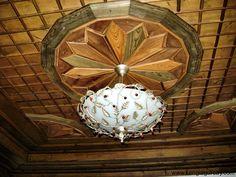 ahşap tavan süslemesi  cengizgurcay.com/safranbolu-evleri-15.html