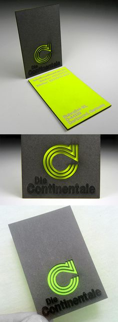 Laser engraved fluorescent neon acrylic business cards laser bold black and neon layered laser cut business card design colourmoves