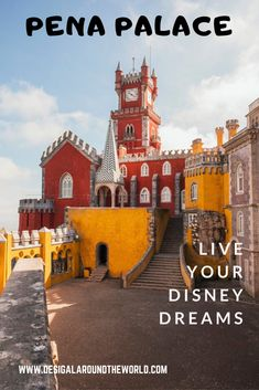 A day trip from Lisbon to Sintra and Cabo da roca. Pena Palace and Park.Moorish Castle,National Palace of Sintra,Monserate Palace Voyage Europe, Europe Travel Guide, Traveling Europe, Travel Guides, Travelling, Travel Tips, Pena Palace, Day Trips From Lisbon, Bahamas Vacation