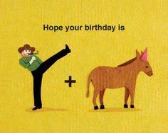 Happy Chuck Norris Donkey