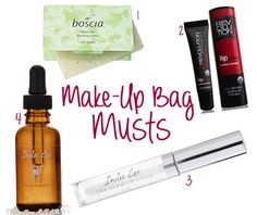 Back to School Make Up Must Haves #beauty #backtoschool #natural