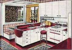 Beautiful Kitchens -- another one from 1945