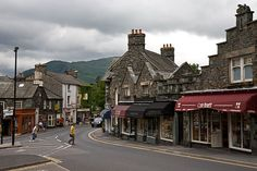 Ambleside in the lake district