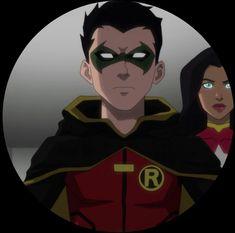 Spiderman Black Suit, Batman Dark, Robin Damian Wayne, Demian Wayne, Dc Icons, Batman Family, Young Justice, Dc Heroes, Gotham