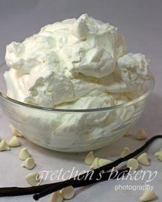 White Chocolate Mousse recipe!