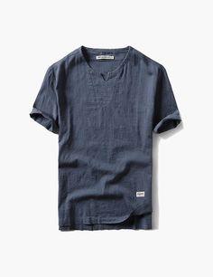 Look fashion sectioned shopify theme Look Fashion, Korean Fashion, Stretchy Material, Chiffon Dress, Short Sleeves, Mens Tops, T Shirt, Blue Prints, K Fashion