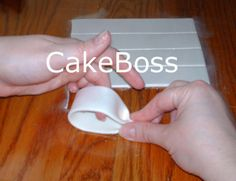 how to make a fondant bow