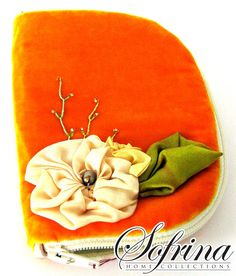 Citrus Jewelry Book  Avocado Interior with Two Pockets and