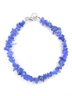 Blue glass chips Diy Beaded Bracelets, Jewelry Bracelets, Jewellery, Crystals Minerals, Glass, Summer, Blue, Shopping, Jewels