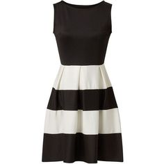NEW Cameo Rose Monochrome Scuba Striped Skater Dress Black White 8 to 16 Fit And Flare Cocktail Dress, Cocktail Dresses, Flare Dress, Monochrome, Mini Skater Dress, Skater Dresses, Rose Print Dress, Mini Club Dresses, Party Dresses