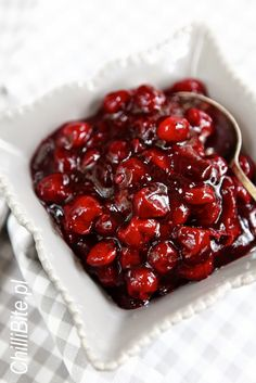 fruzelina wiśniowa Blackberry, Raspberry, Pickles, Canning, Fruit, Recipes, Food, Per Diem, Home Canning