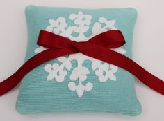 red and aqua Christmas wedding those two colors are so pretty together