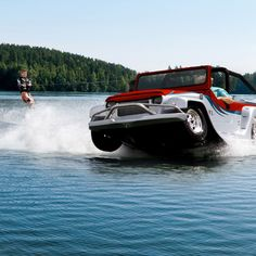 For those that couldn't decide between a boat and a jeep. Now you can have both!
