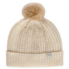 Joules Bobble Lambswool Blend Hat at John Lewis
