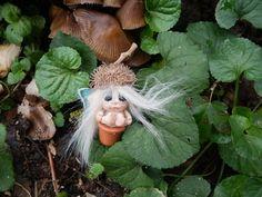 Ooak Miniature little magic fairy sculpt by ArtistaToscana on Etsy, $38.00