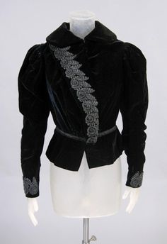 Woman's Jacket    Made in United States, North and Central America  c. 1900