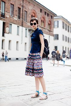 On the Street….Piazza del Duomo, Milan