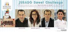 """Jurado """"Deja Sitio para el Postre"""" para la Sweet Challenge 2014 BCN&CAKE"""