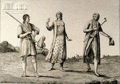 ANDRE GRASSET ST. SAUVER (painter) & E. BRIONE (1729-) (engraver) Local attire from Parga, Preveza, Vonitsa and Aghia Mavra 1800, copper engraving, 15.5 x 20 cm