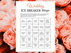 Bridal Shower Ice Breaker Game Coral Wedding Human Bingo Cards Printable Get to Know You – Fall and Autumn Wedding Ideas – egame Bingo Cards, Printable Cards, Party Printables, Wedding Party Games, Wedding Ideas, Ice Breaker Bingo, Human Bingo, Bridal Shower Games, Bridal Showers