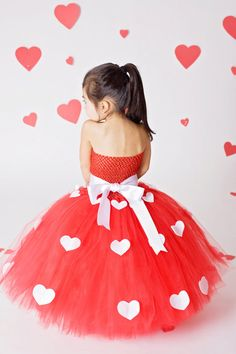 Miss Valentine tutu dress by Tu2Cute1 on Etsy