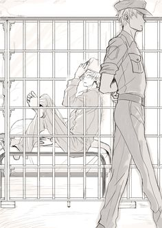 Usuk prison - am i the only one alfred would easily escape from prison?