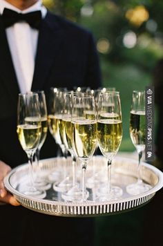 Like this - Kick off cocktail hour with ice cold glasses of bubbly! Virginia Wedding. Photography by , Event planning + Coordination by , Floral Design by , Read more - | CHECK OUT MORE IDEAS AT WEDDINGPINS.NET | #weddings #formal #formalwedding #events #forweddings #iloveformals #romance #beauty #planners #blacktie