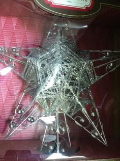 Star Tree Topper -- This is an Amazon Affiliate link. Want to know more, click on the image.