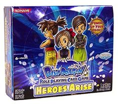 Blue Dragon RPCG Role Playing Card Game Heroes Arise Booster Box (24 Packs) Review 2017