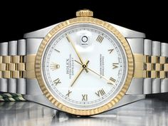 Orologi Rolex Datejust Ref 16234 - 16220 - 116234 Prezzi Lux Watches, Rolex Datejust, Oyster Perpetual, Gold Watch, Accessories, Game, Gaming, Toy, Games