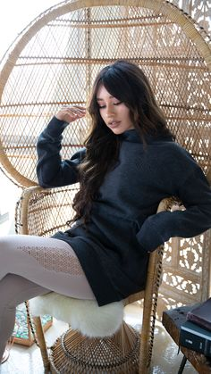 0668a0e9070 Keepin  it cosy while we lounge around in our So Soft Sweater.  Gymshark