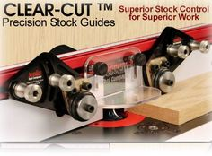 JESSEM Clear-Cut Precision Stock Guides, JessEm# 04215 by JessEm: Amazon.co.uk: DIY & Tools
