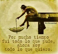 Me canse...