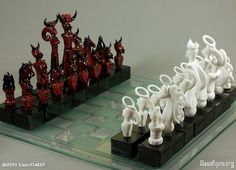 Heaven and Hell Chess