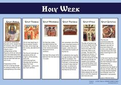 """Holy Week for Eastern Orthodox Catholic Christians"" Catholic Lent, Orthodox Catholic, Orthodox Easter, Orthodox Christianity, Roman Catholic, Russian Orthodox, Sunday School Teacher, Sunday School Lessons, Sunday School Crafts"