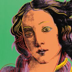 Birth Of Venus ~~ Warhol ~~ 1984