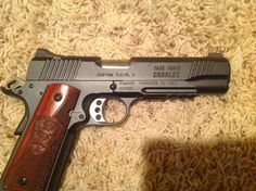 Task Force Charles. We called ourselves Charles Company because it sounds more formal. Kimber 1911
