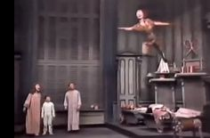 Mary Martin as Peter Pan  https://www.youtube.com/watch?v=hJFtCfHDFfw