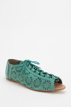 Ecote Pinwheel Cutout Lace-Up Sandal...I AM ORDERING THESE TOO........ADORABLE!!!!!