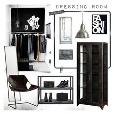 """""""Dressing Room"""" by bellamarie ❤ liked on Polyvore featuring interior, interiors, interior design, home, home decor, interior decorating, David Design, House Doctor, Röshults and Adesso"""