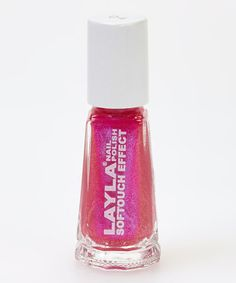 Take a look at this Neon Pink Softouch Nail Polish by LAYLA COSMETICS on #zulily today!