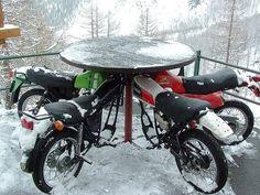 DIY recycled craft: Junk Motorcycle